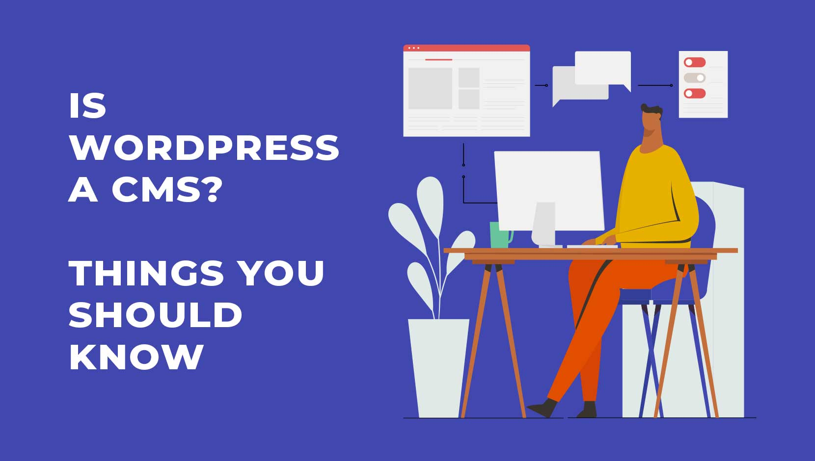 Is WordPress a CMS? 3 Things You Should Know