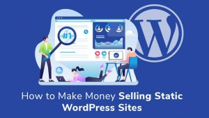 How to Make Money Selling WordPress Static Sites