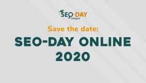 Save the Date: SEO-Day Online 2020