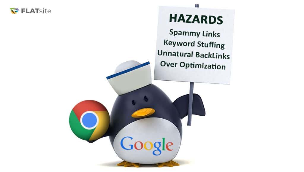 google penguin hazards