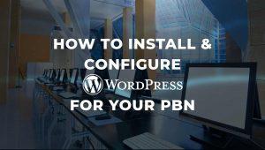 How to Configure WordPress for Your PBN on FLATsite
