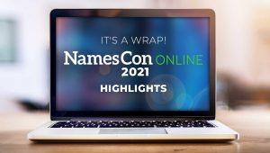 It's a Wrap! NamesCon Online 2021 Highlights