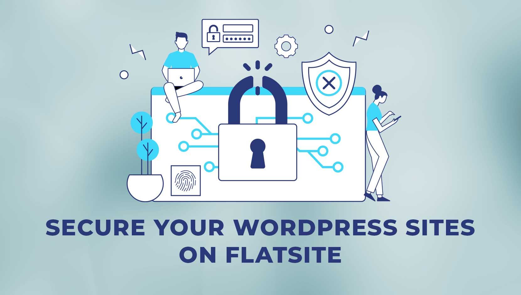 Secure Your WordPress Sites on FLATsite
