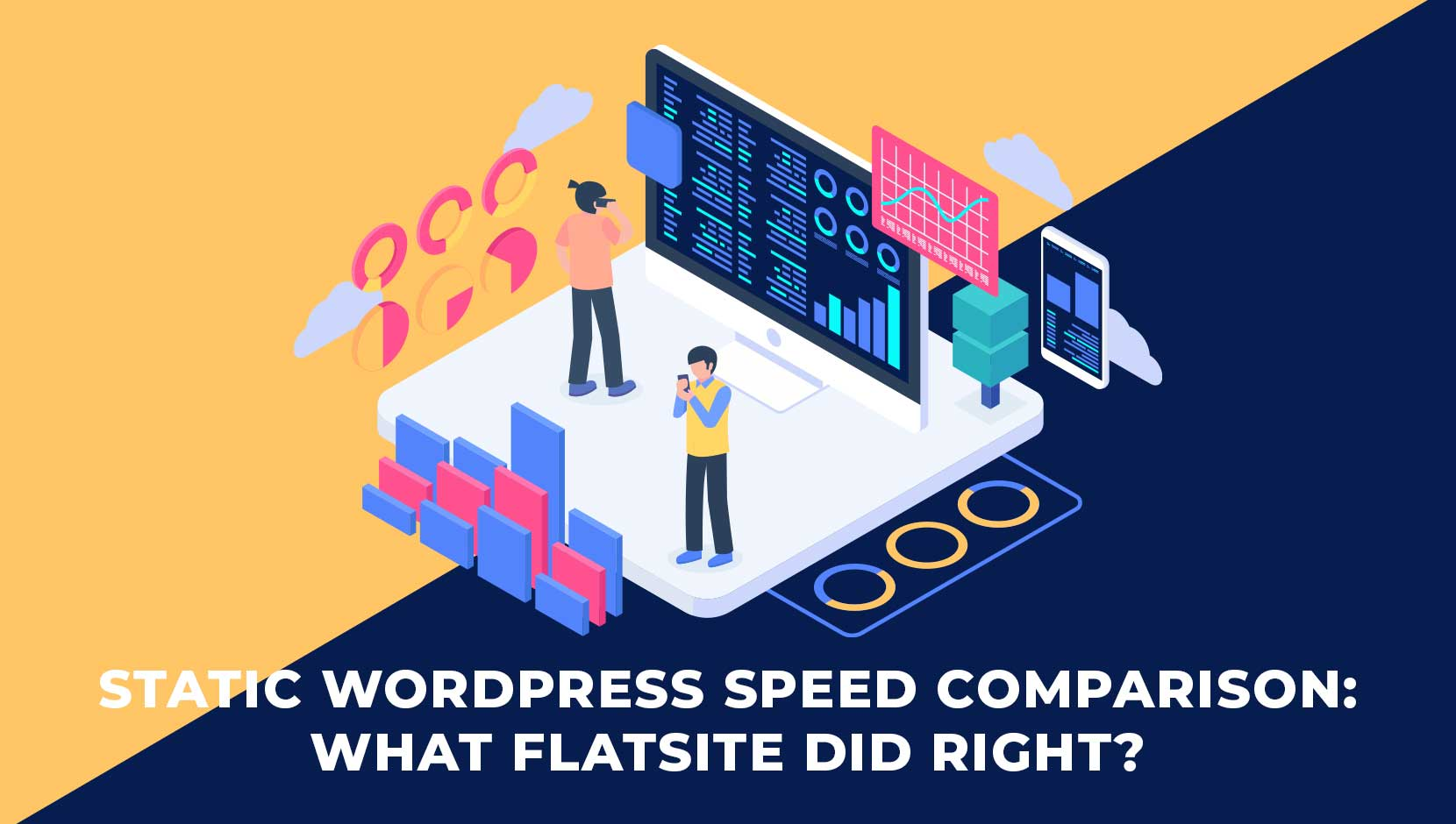FLATsite Tops Static WordPress Speed Comparison