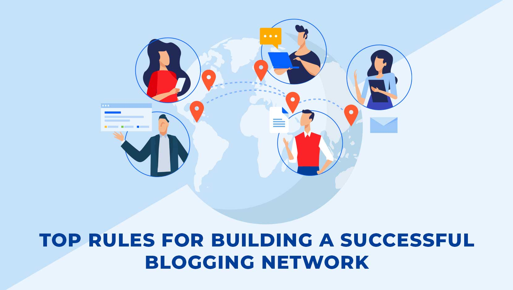 Top 5 Rules for Building a Successful Blogging Network