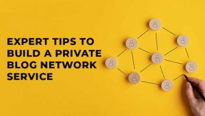 5 Expert Tips to Build a Private Blog Network Service